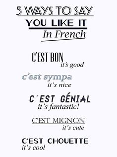 cest bon, french quotes, learning french, learn french, french lessons, pari, françai, languag, franc