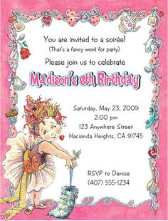 fancy nancy party ideas | Fancy Nancy Birthday | Flickr - Photo Sharing!