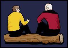 captain's log...hahahahahaha!