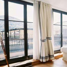 Window frames & treatments