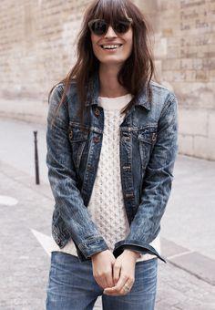 jean jacket...