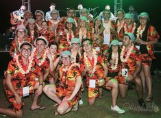 Cabana Sets - Hawaiian Shirts & Boardshorts. Corporate Trip to Fiji for the staff at Coco-Cola New Zealand. Love it!