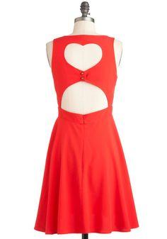 I Love You Back Dress, #ModCloth