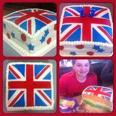 british flag and irish flag
