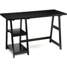 Trestle Desk, Black $99