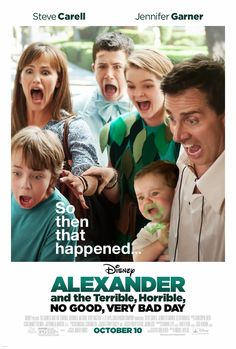 Stuff to do with your kids in Kitchener Waterloo:Enter To Win A Family Pass To The Alexander and the Terrible, Horrible, No Good, Very Bad Day Screening In Waterloo #VeryBadDay