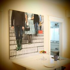 wall art, family pictures, display photos, family pics, stair, photo displays, family portraits, large families, displaying family photos