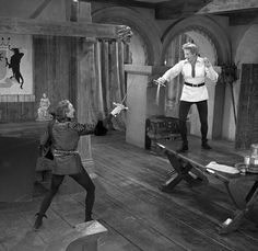 The Court Jester is an AWESOME movie and perfect for set design ideas...