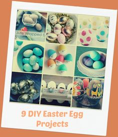 9 DIY Easter Egg Projects {Roundup} | Desperate Houselife