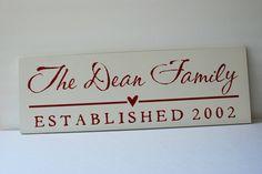 -Family Est. Sign-