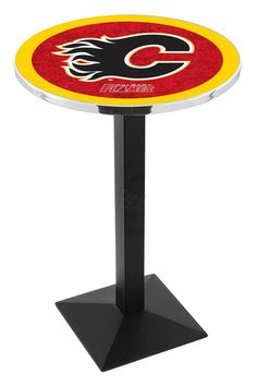 Use this Exclusive coupon code: PINFIVE to receive an additional 5% off the Calgary Flames Square Style-Base Bar Table at SportsFansPlus.com