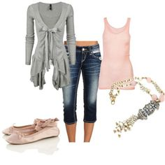 Polyvore - Click image to find more Women's Apparel Pinterest pins