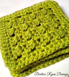 Amazing Grace Summer Crochet  Coaster Set
