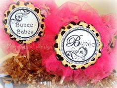 Bunco name tag ideas