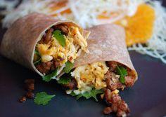 #5IngredientDinners Egg and Chorizo Burritos