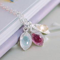 family birthstone jewelry - Google Search