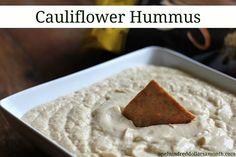 cauliflower hummus recipe!
