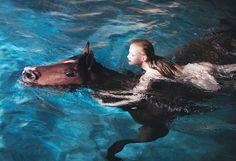 Guinevere van Seenus in Vogue 2005, shot by Steven Klein