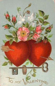 "Hearts:  ""To My #Valentine."""