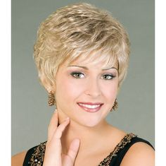 Reveal Wig - Capture the trend of tailored sophistication instantly in this perfectly executed short cut. Find this style & more @ thewigcompany.com
