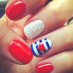 Cutesy nails!