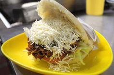 Arepa! :) Venezuelan food