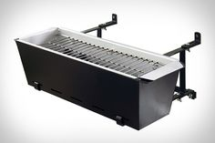 balconi grill, idea, gear, balconies, apartment living, tiny apartments, grills, bbq grill, stainless steel