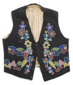 Beadwork vest