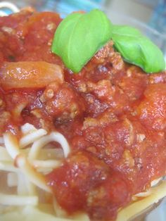 Easy Spaghetti Bolognese | Moore or Less Cooking Food Blog