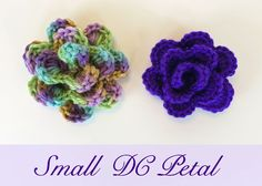 Small Petal Flower ~ free pattern