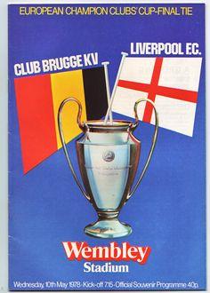 Liverpool v Club Brugge - 1978 European Cup final at Wembley