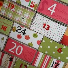 24 Days of Service Christmas Countdown {Advent Calendar}
