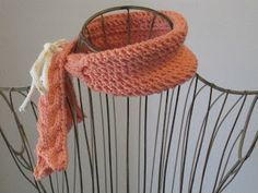 Balls to the Walls Knits: Handkerchief Cowl