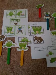 MANY early learning printables! (preschool packs)