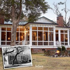 New Old Porch 10 Best Home Makeovers Southern Living