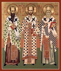 The Three Holy Hierarchs ~ Patron Saints of Learning