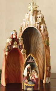 Nativity set - nesting - really like this one