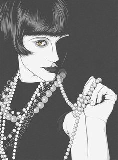 Champagne 1920 by Cranio Dsgn, via Behance