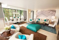 Ocean inspired bedroom on pinterest chaise lounges area for David bromstad bedroom designs