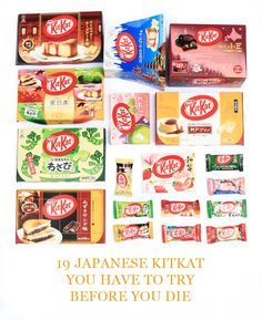 """Have a break, have a KitKat."" But when in Japan, you can have many breaks, because the world-favourite chocolate bar comes in a gigantic array of flavours"