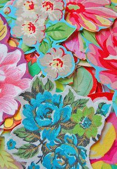 floral decoupage