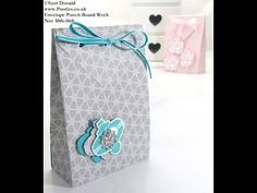 Stampin Up UK ENVELOPE PUNCH BOARD Folded Gift Bag - YouTube