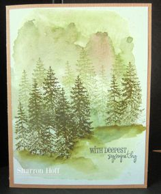 Online Card Classes, Watercolor background - Scrapendipity