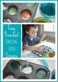 Baking Soda Preschool Science Activity