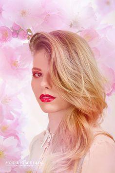 Sakura inspired makeup 2