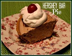 Sweet Tea and Cornbread: Hershey Bar Pie!