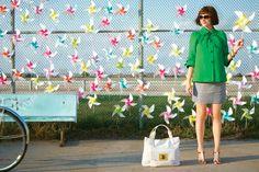 Pinwheels!!! #ridecolorfully