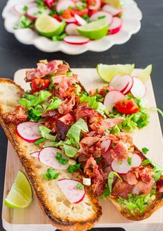 Mexican BLT with Guacamole - a BLT sandwich that's fresh, delicious and healthy with a little Mexican flare.