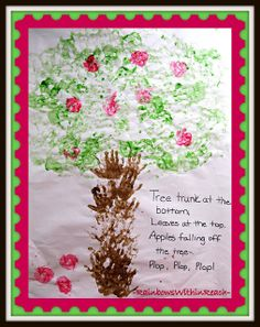 Handprint Apple Tree