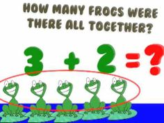 Adding and Subtracting Song-      (Add means put together... Subtract means take away!)